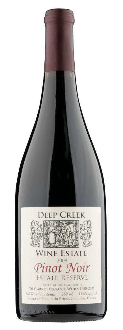 okanagan wine club 2008 Deep Creek Pinot Noir Reserve
