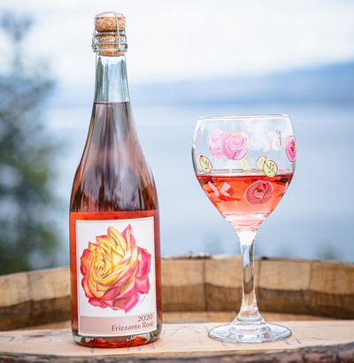 Hainle Winery 2020 Frizzante Rosé